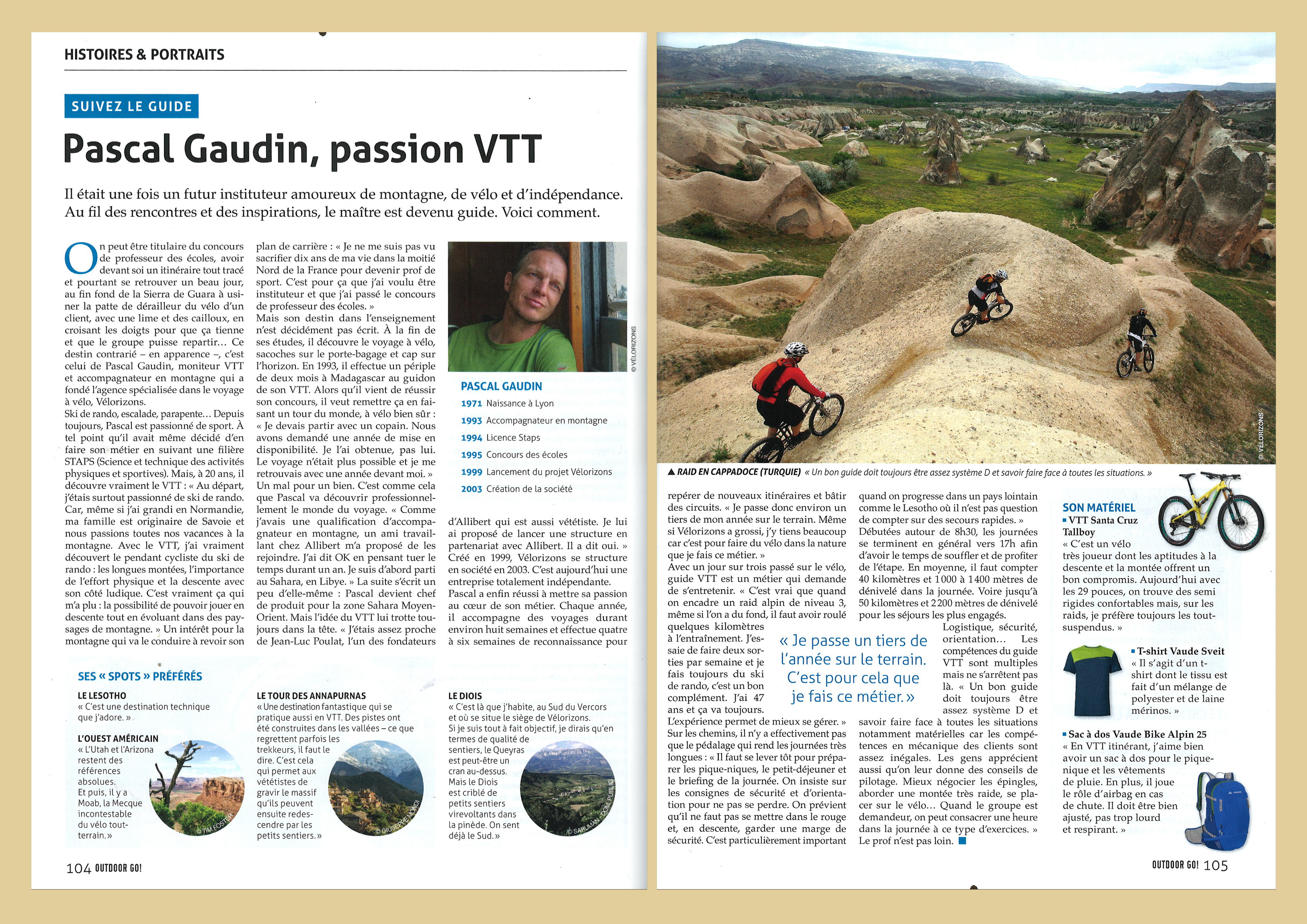site de rencontre de VTT